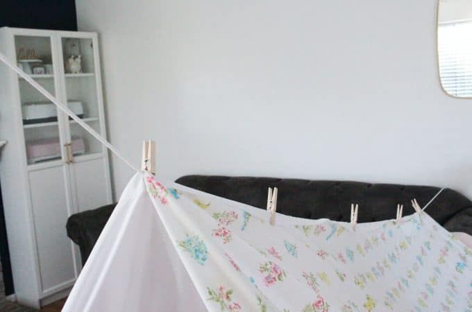 How to Make an Amazing Blanket Fort