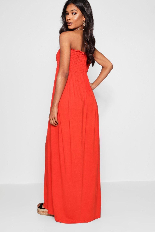 The yard bandeau bodycon maxi dress