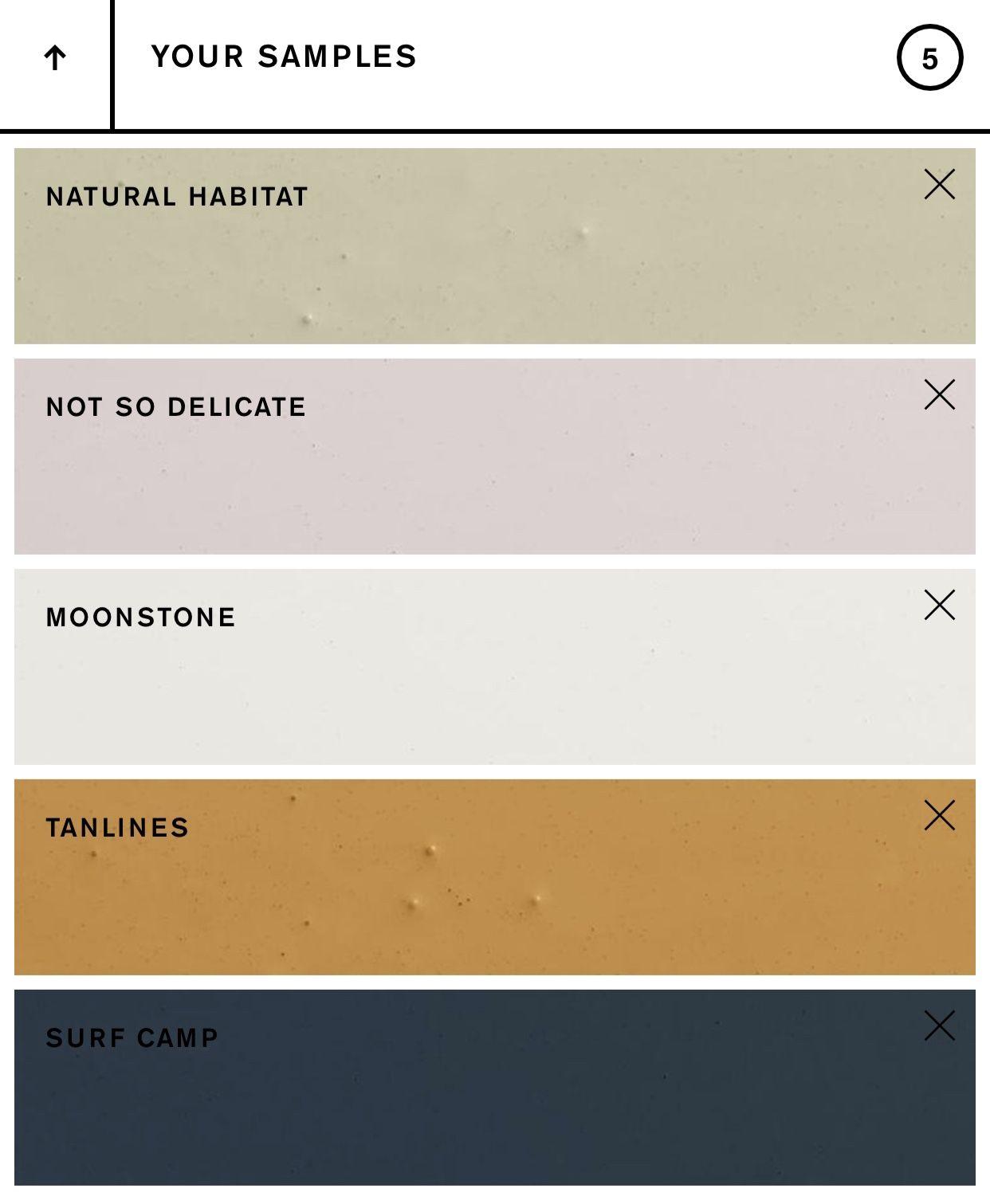 Urban Outfitters X Backdrop Color Palette Color Palette Paint Color Palettes Surf House Decor Interior Design