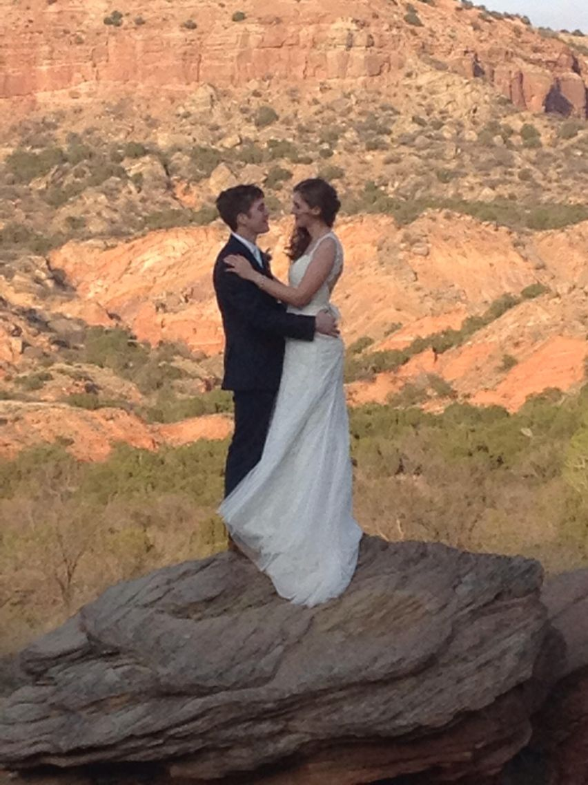 Jessica Herbert And Dillon Chilcoat Wedding April 11 2017 At Palo Duro Canyon Tx