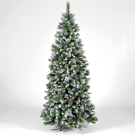 Frosted Glacier Trees Our Frosted Glacier Christmas Trees Look Stunning Whether You Opt For Minima Christmas Tree Christmas Tree Hooks Frosted Christmas Tree