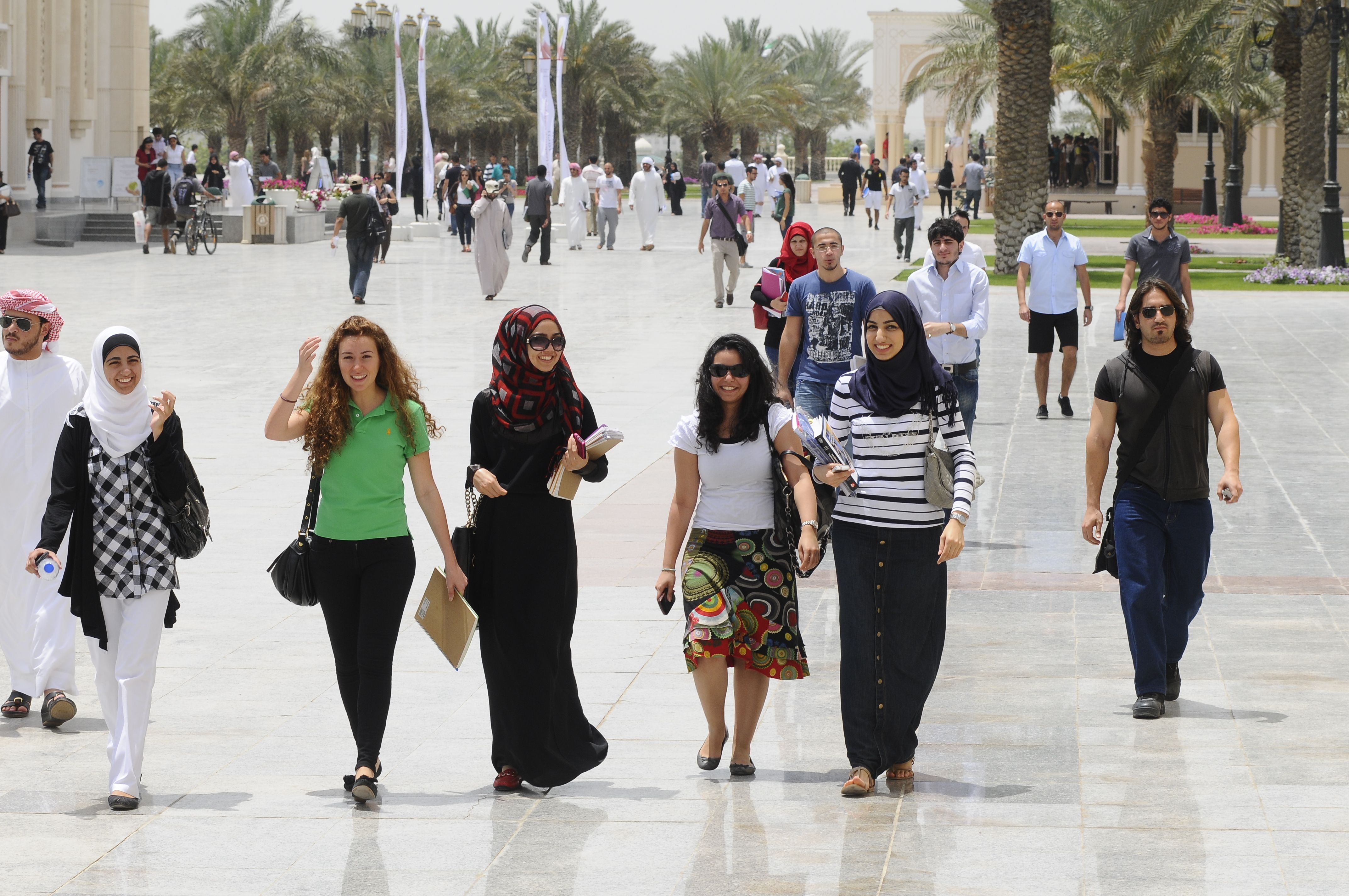 You will make some of your best friendships at #AUSharjah
