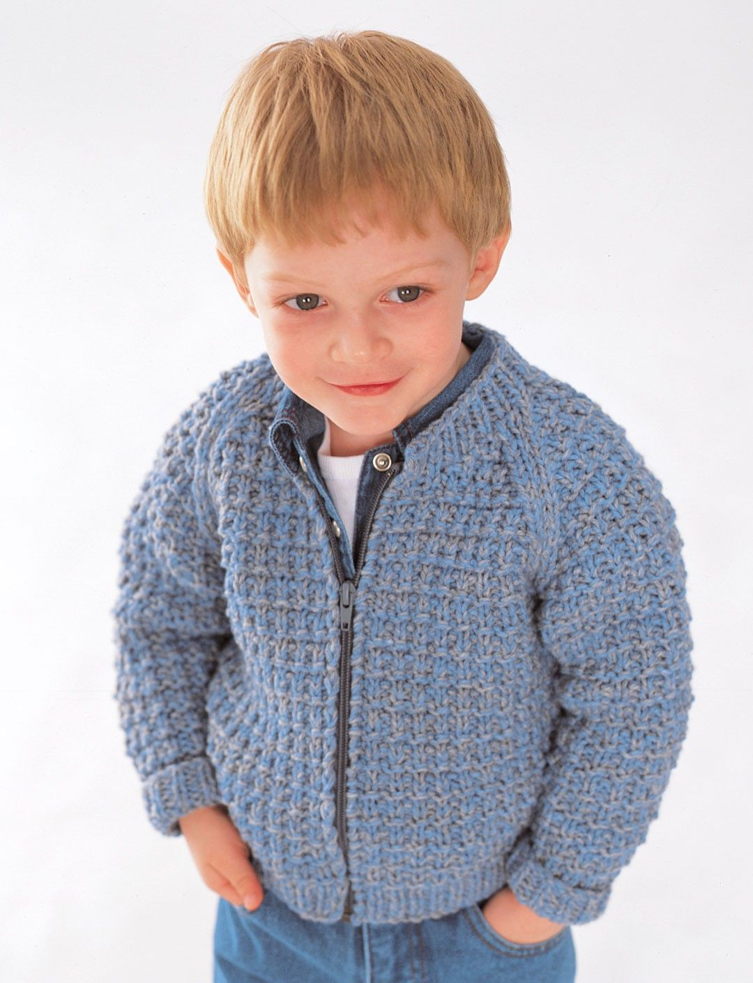 Yarnspirations.com - Patons Easy Zip Jacket - Patterns ...