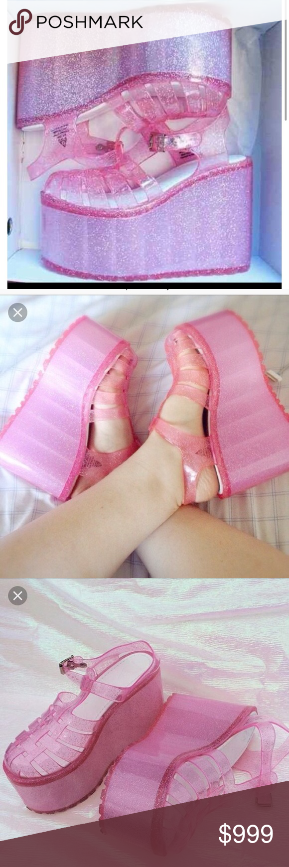 cce92052c9e2 ISO UNIF HELLA JELLIES PINK I m lookin for the UNIF Hella Jellies in pink
