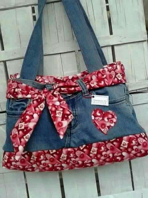 74 Tolle DIY-Ideen zum Recyceln alter Jeans - Upcycled Kunsthandwerk