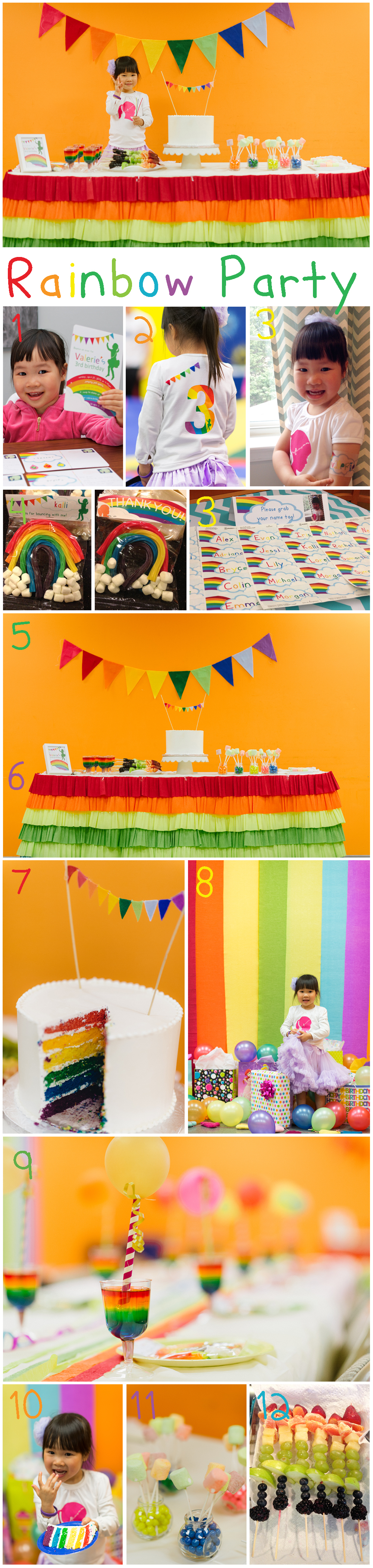 Diy wednesday rainbow party roundup family of love