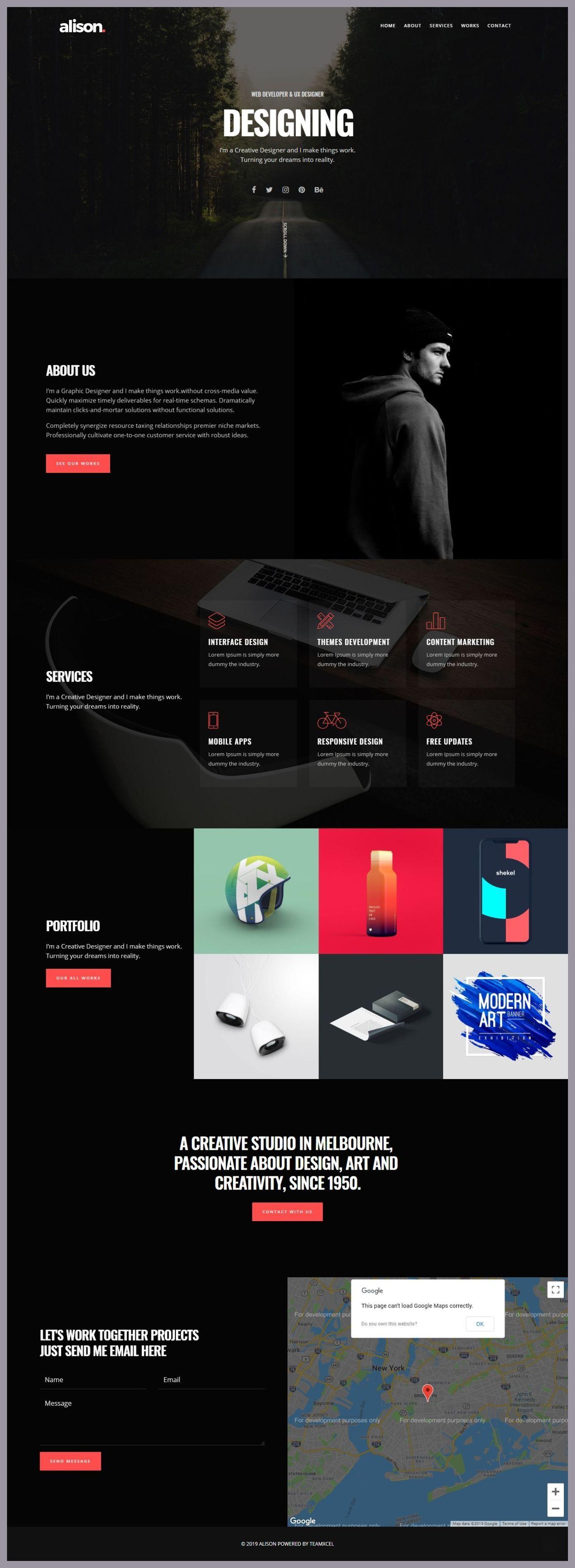 Pin Von Raul Alex Auf Webdesign Inspirationen Design Web Web Design Webdesign