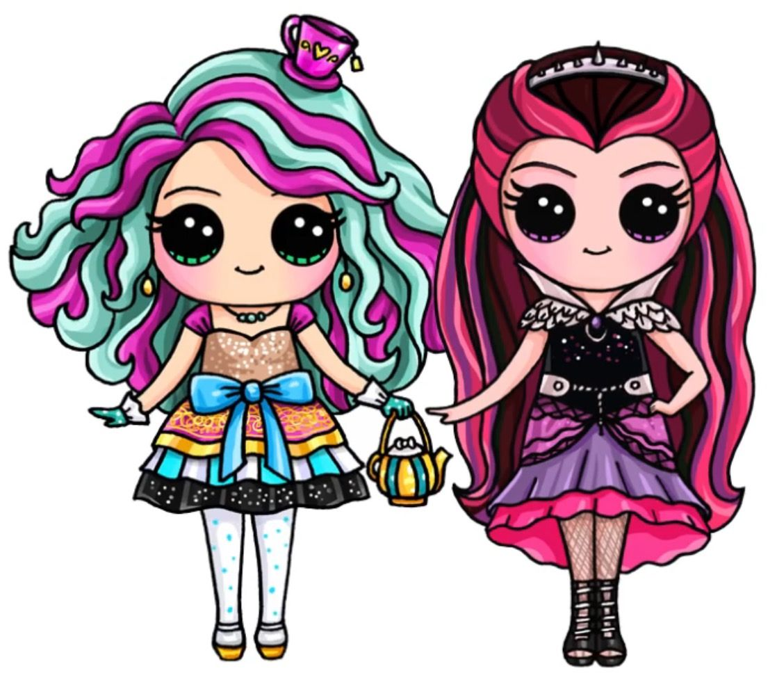Draw So Cute | Ever After High | Pinterest | Cute drawings ...
