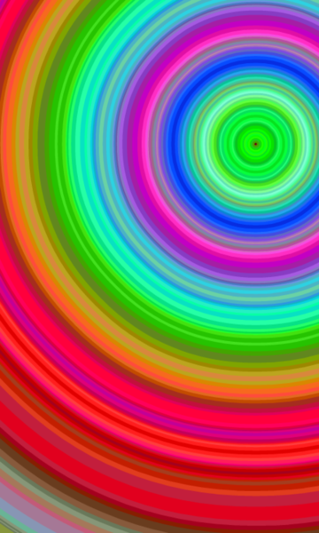 Rainbow Spiral With Images Rainbow Rainbow Colors