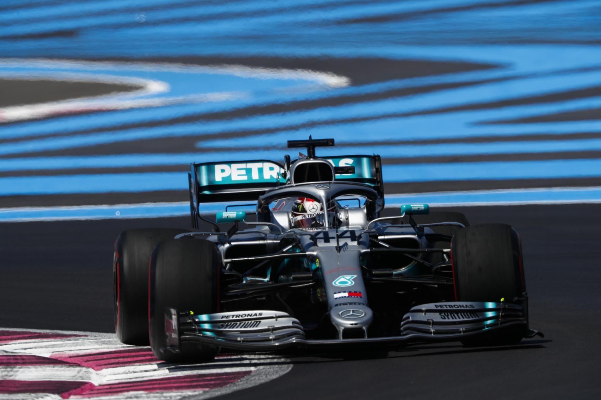 Formule 1 Qualification 86ème pole pour Lewis Hamilton