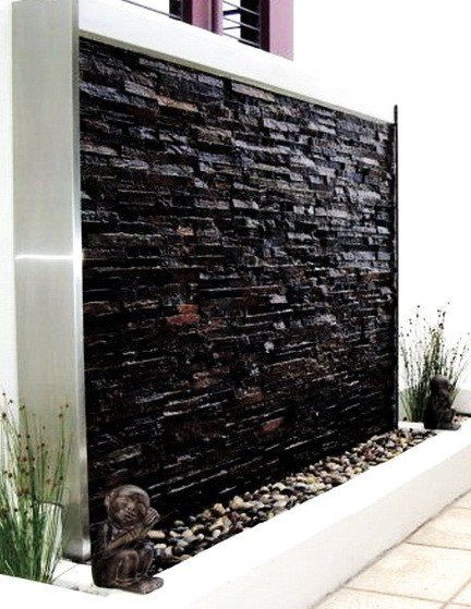 30 Relaxing Water Wall Ideas For Your Backyard Or Indoor Water