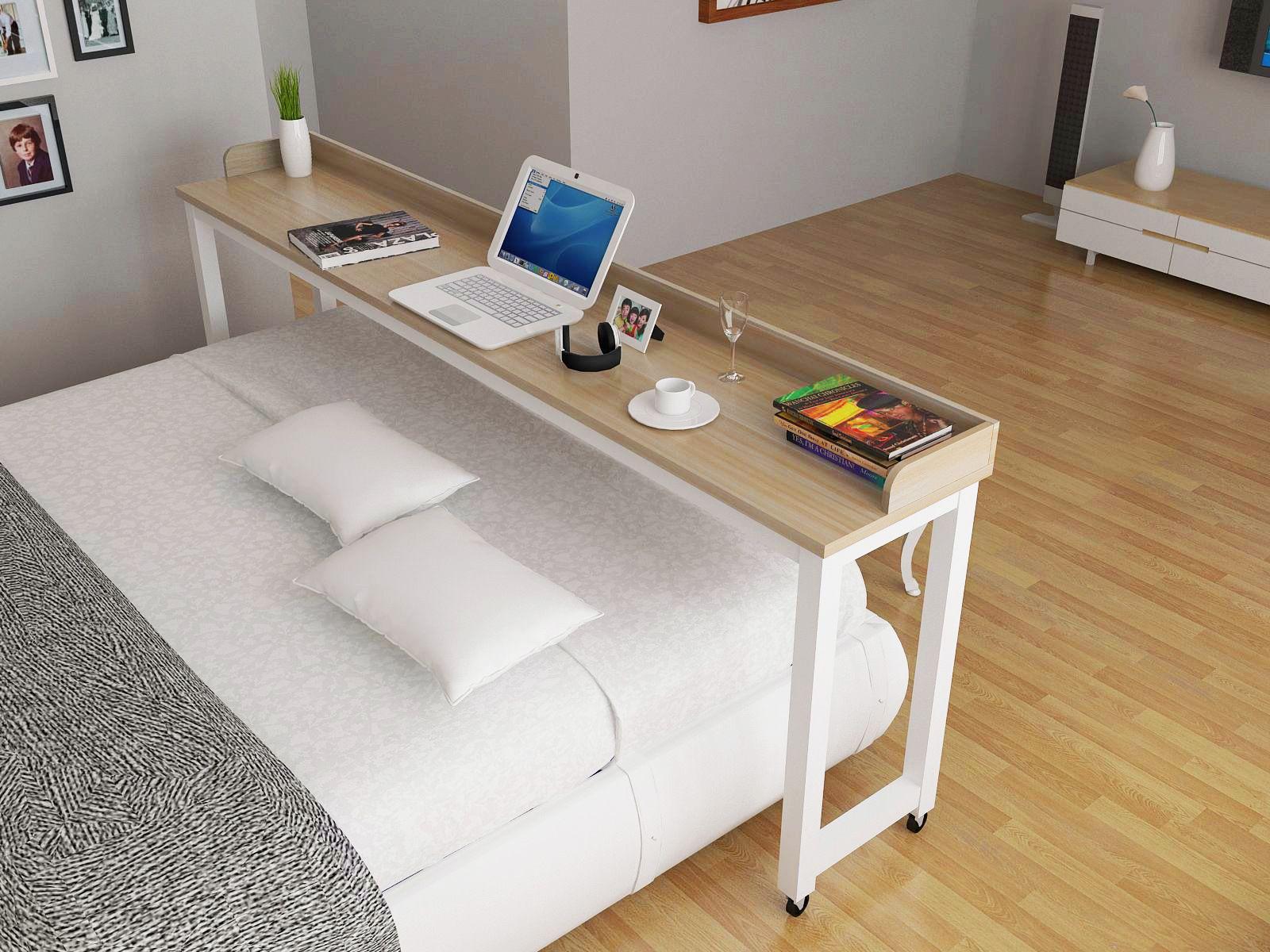 Wonderbaarlijk Goedkope Laptop tafel bed met een dubbele tafels across desktop ZY-42