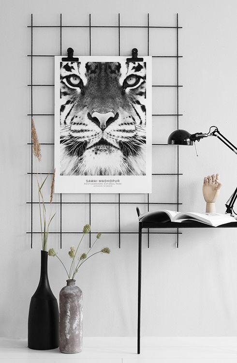 Poster Noir Et Blanc, Desenio Et Affiche