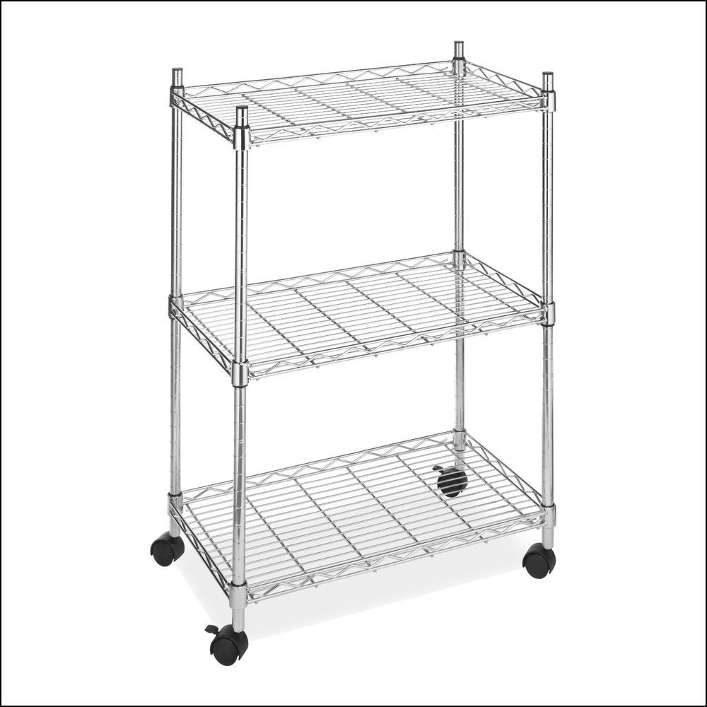 Wire Storage Racks with Wheels | Wheels - Tires Gallery | Pinterest ...