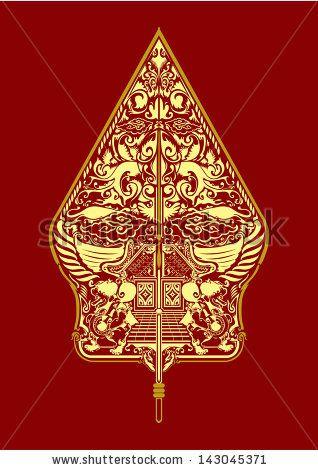 4b03fa82fa vector wayang gunungan indonesia