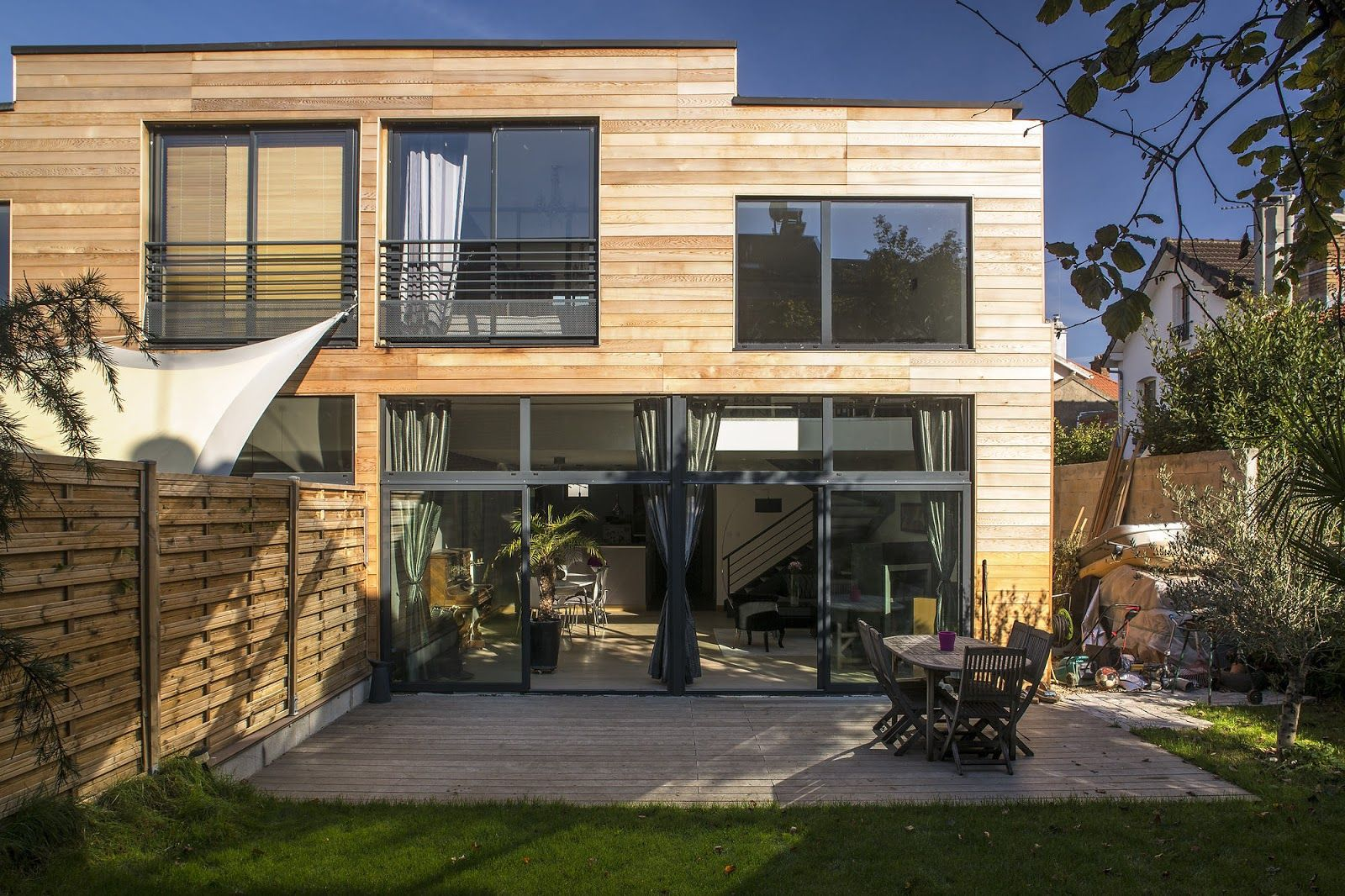 Tuto Grande Maison En Bois Moderne Maison Design