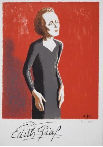 By Charles Kiffer, Edith Piaf.