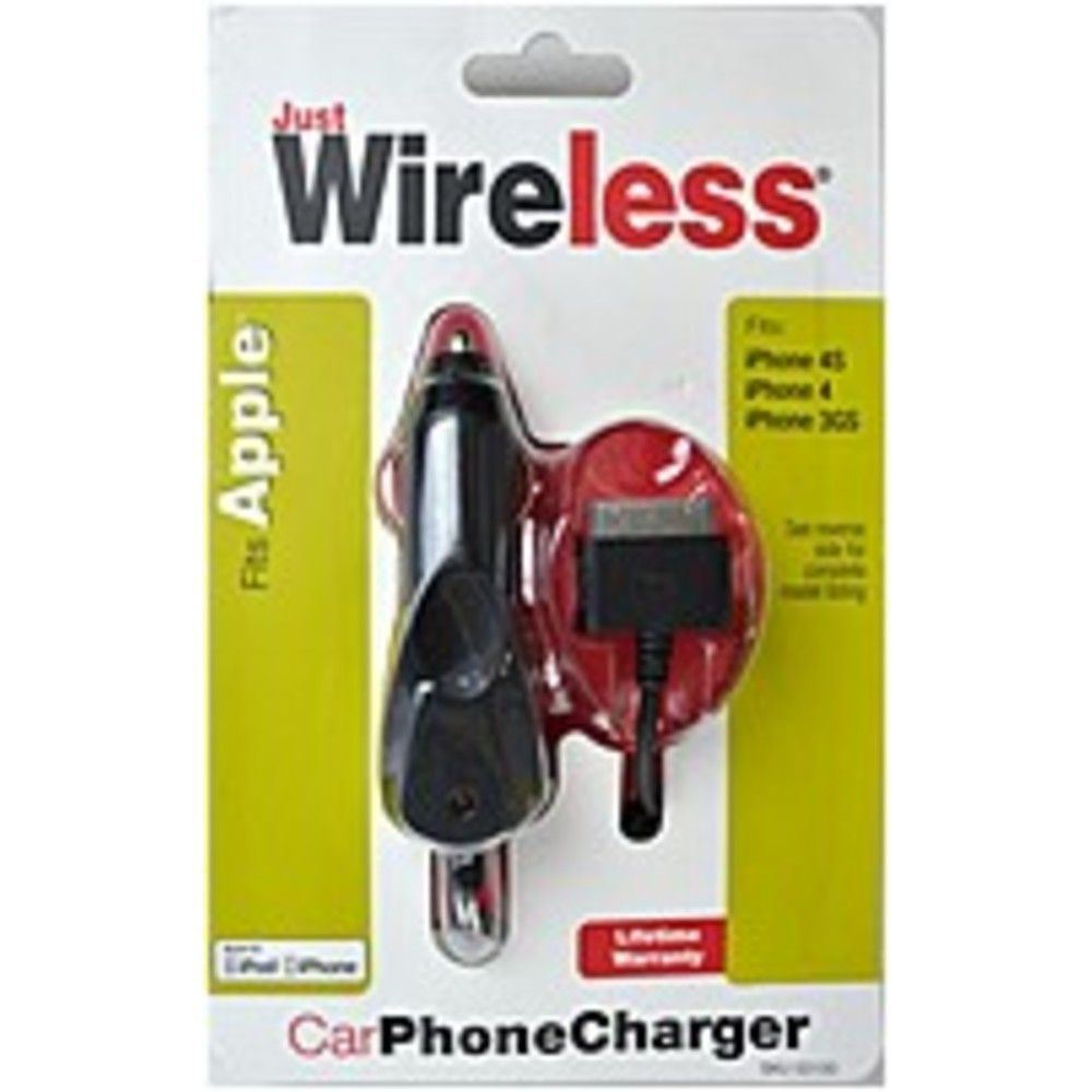 Just Wireless 03100 Car Charger for
