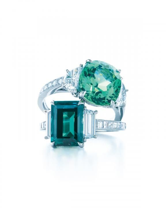 Emerald Rings / Wedding Style Inspiration / LANE
