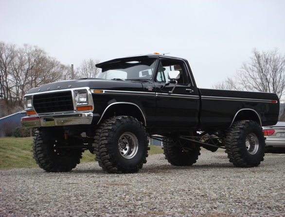 Jacked Up Ford Trucks Posted One In Here Before But It Wasnt A