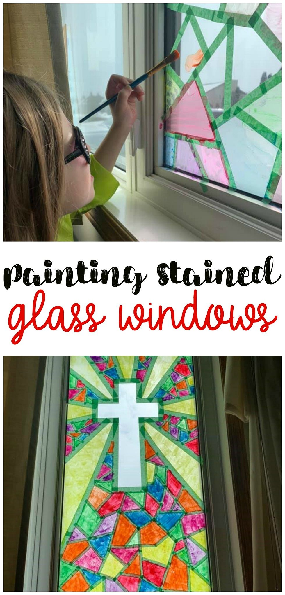 Photo of Paint Your Own Stained Glass Windows