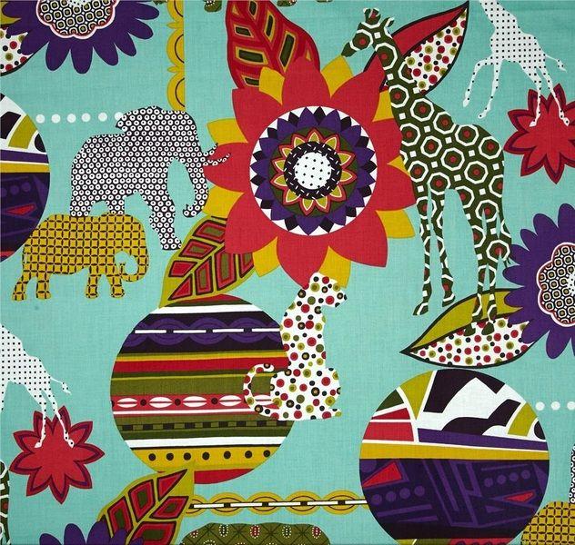 Tela FQ :: Africa :: de nosgustanlosretros por DaWanda.com