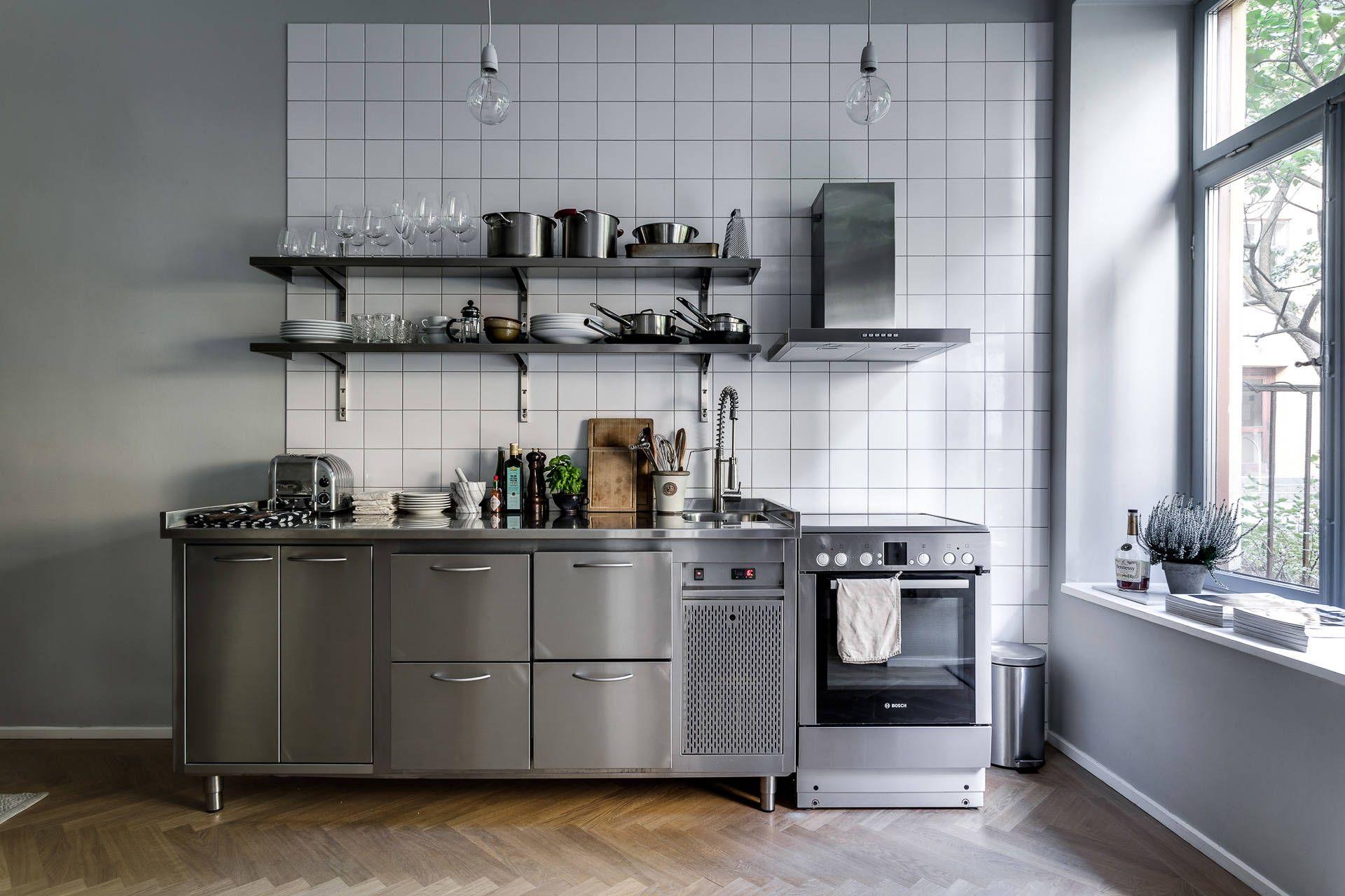 Tout Est Dans La Cuisine Kitchen Dinning Room Industrial Style Kitchen Loft Kitchen