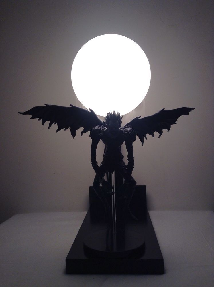 Death Note Ryuk Custom Lamp Deathnote Night Light Anime Lamps Demon | EBay
