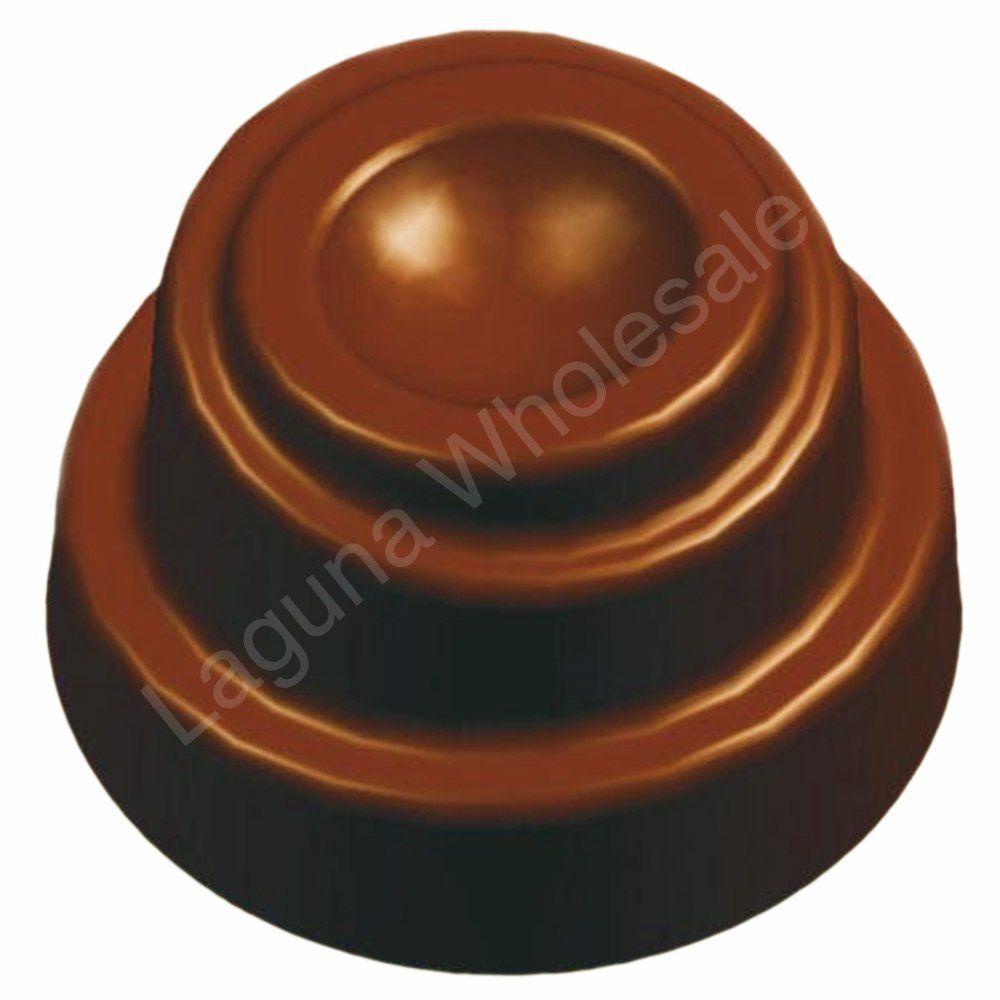 Monique polycarbonate chocolate candy molds 21 piece