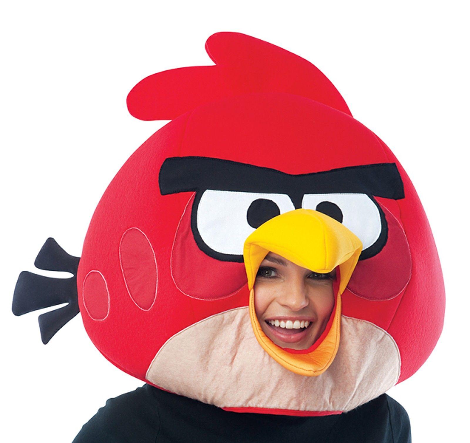 Rovio Angry Birds Red Angry Bird Costume Mask | Angry Birds ...