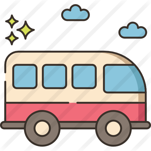 Tour Bus Free Vector Icons Designed By Flat Icons Com Vector Icon Design Vector Icons Icon Design