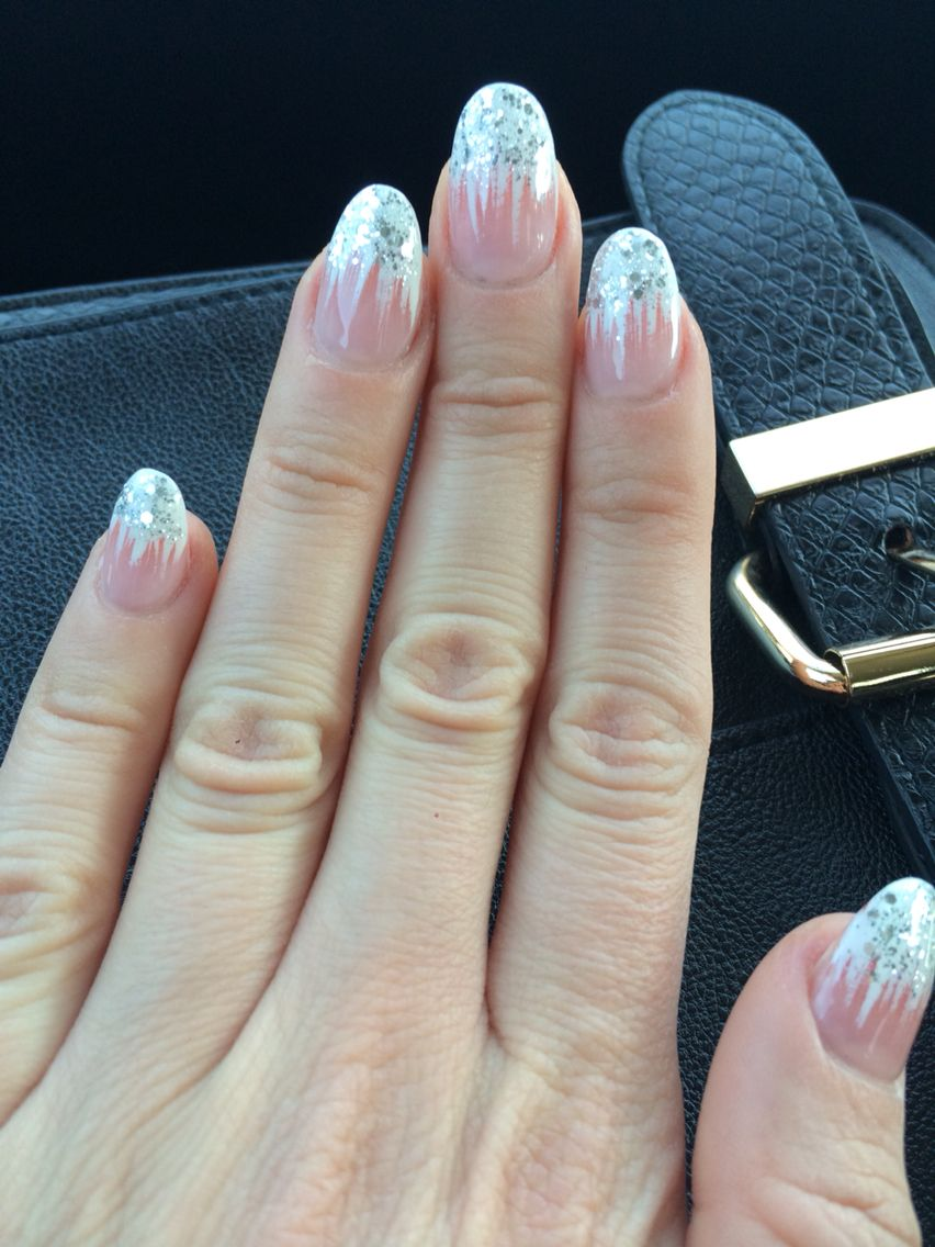 French manicure, acrylic french nails, coolest french design, french ...