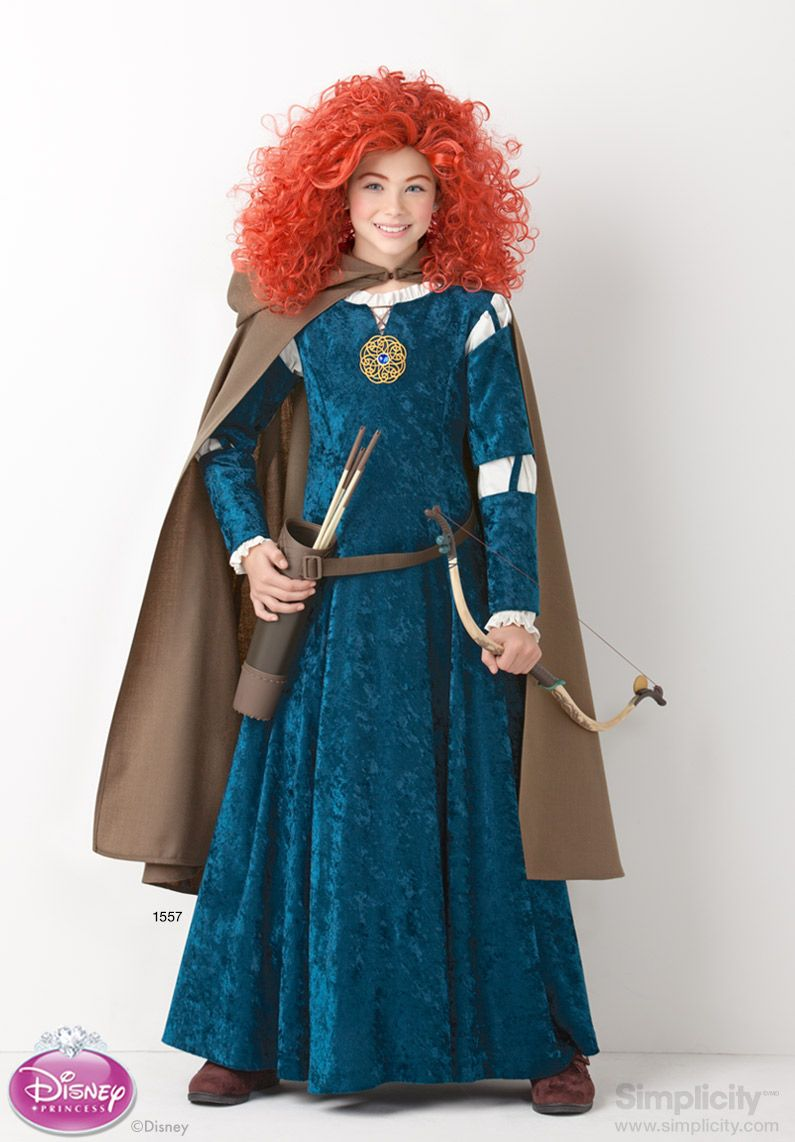 Disneybrave Costume For Children And Girls Dress Up As Princess