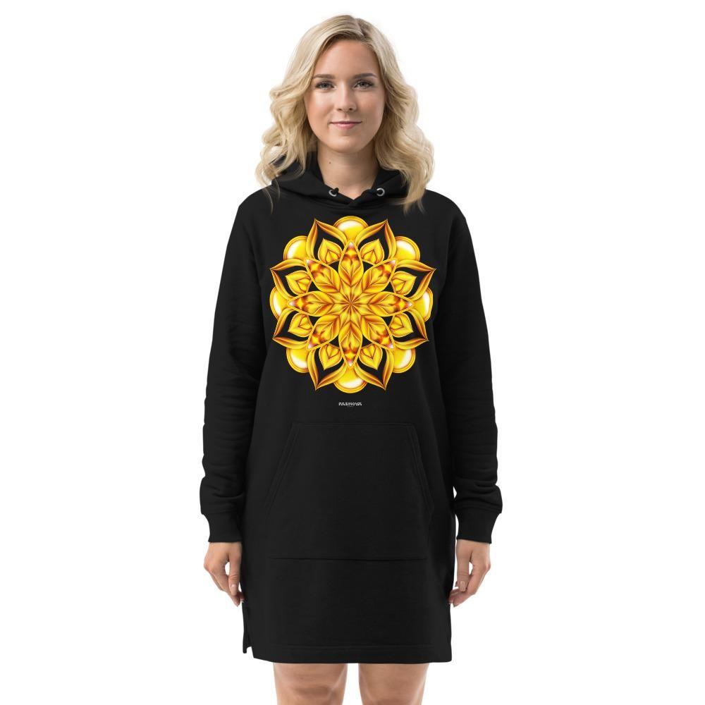 Mandala Starburst Hoodie dress - XS