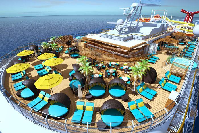 Carnival Vista Havana Cabana Suite