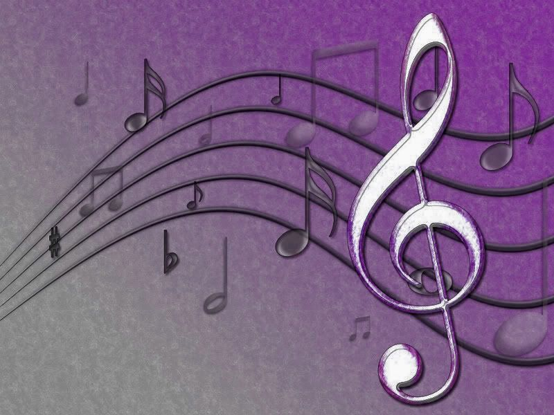 Vintage Music Note Wallpapers For Android Harmony: Music Notes Vintage Purple Images