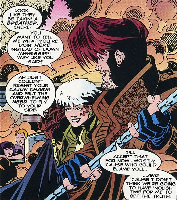 rogue and gambit | Mar...