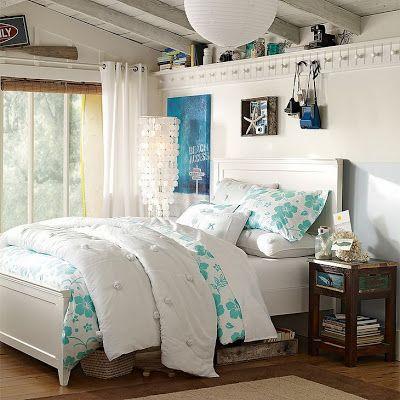 Diseno Dormitorio Chica Adolescente Habitaciones Pinterest - Dormitorios-chicas