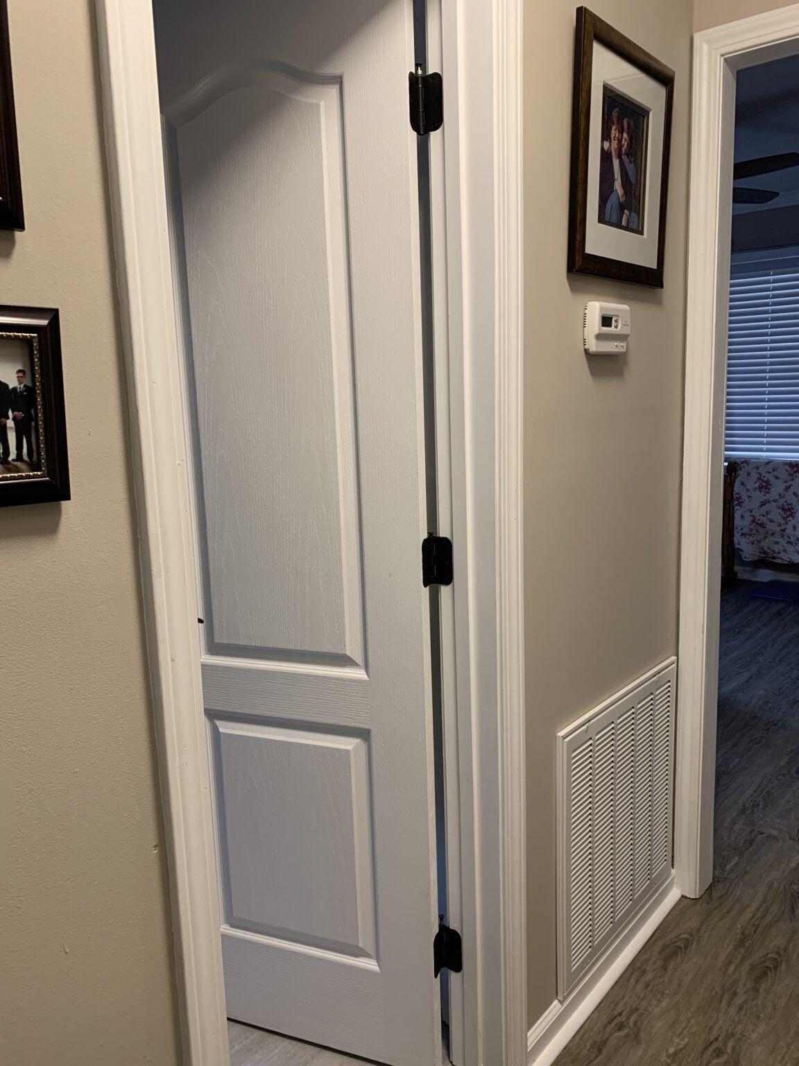 How To Paint Door Hinges In 2020 Painted Doors Door Hinges Painting Interior Doors Black