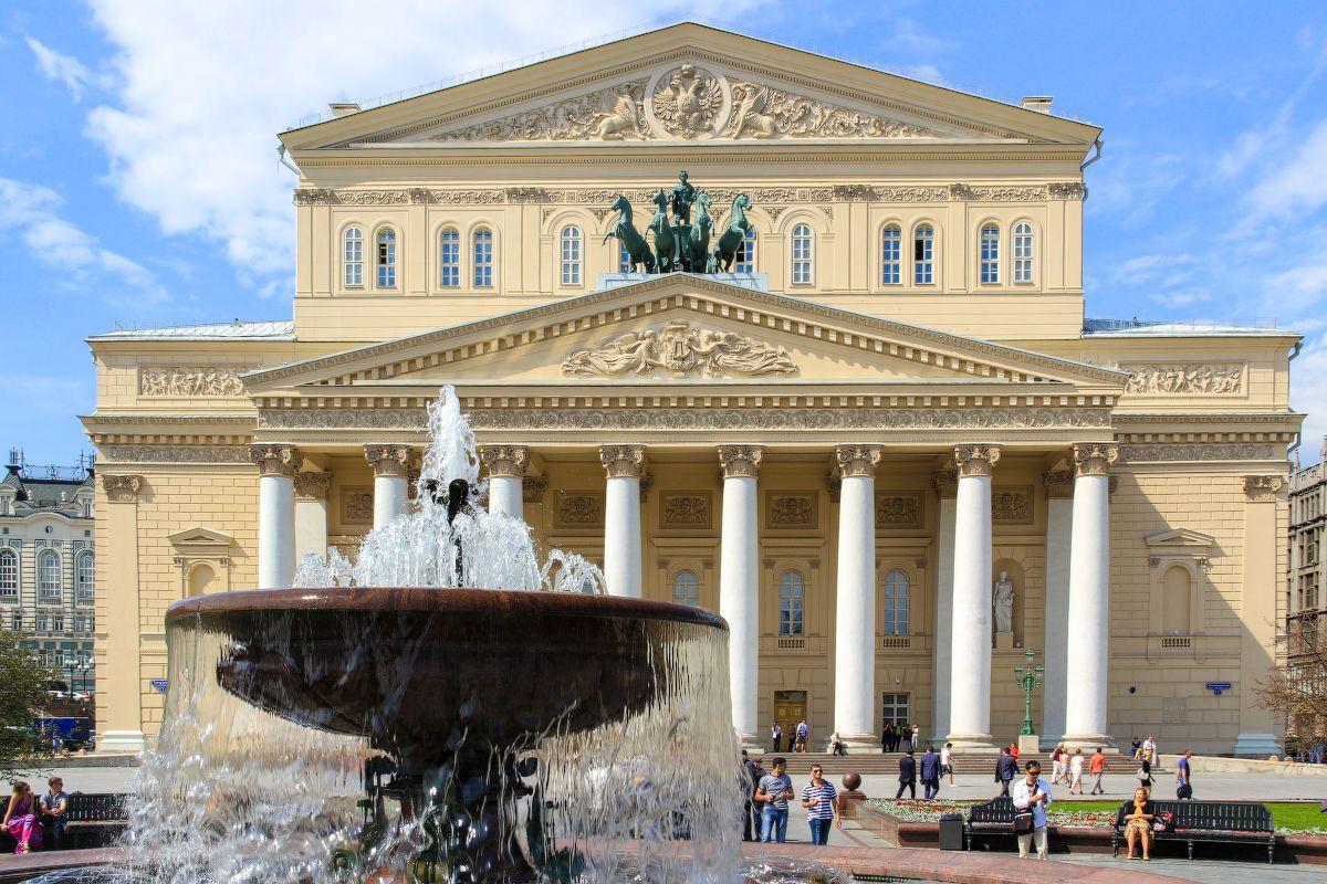 Большой театр, Москва. Архитектор Альберт Кавос.   Архитекторы