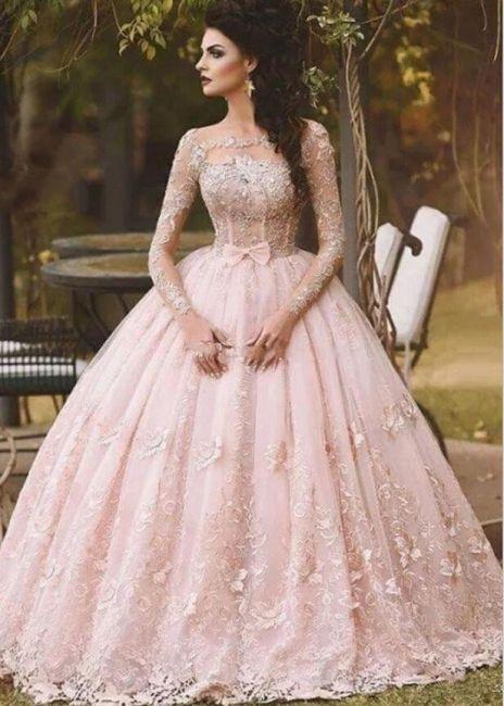 Elegante Abendkleider Lang Rosa | Spitze Abendmoden ...
