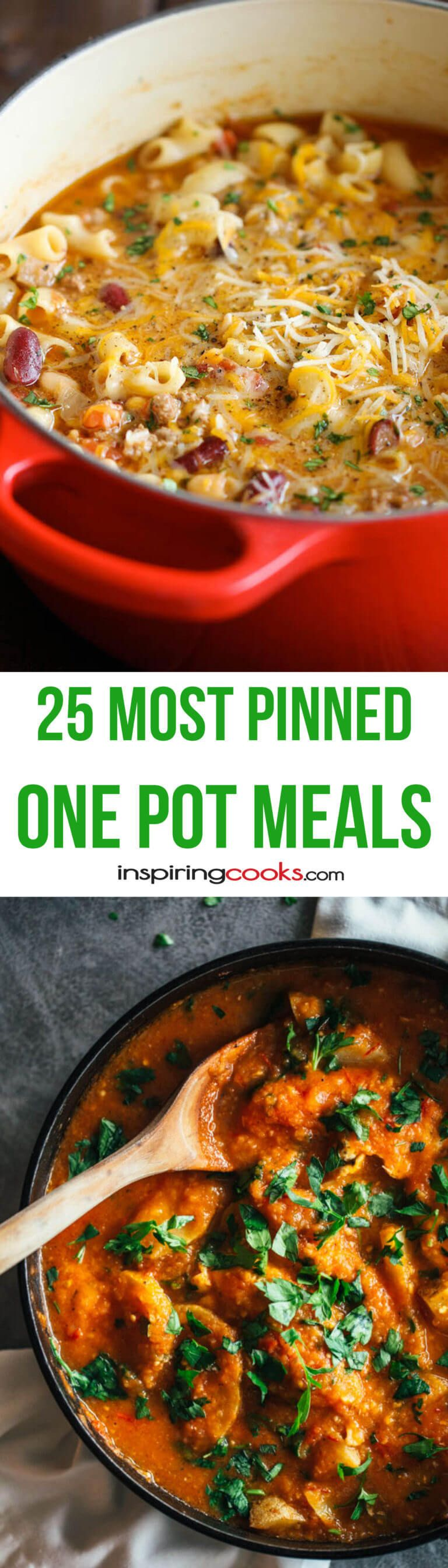 The 25+ Most Pinned One Pot Meals Recipes on Pinterest ...
