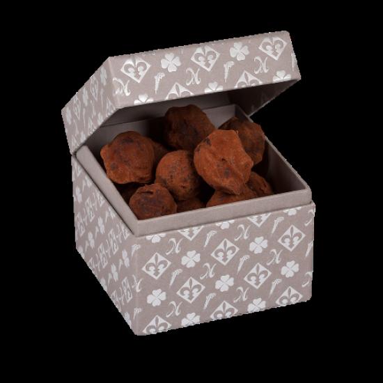coffret truffes chocolat noir exquises douceurs. Black Bedroom Furniture Sets. Home Design Ideas