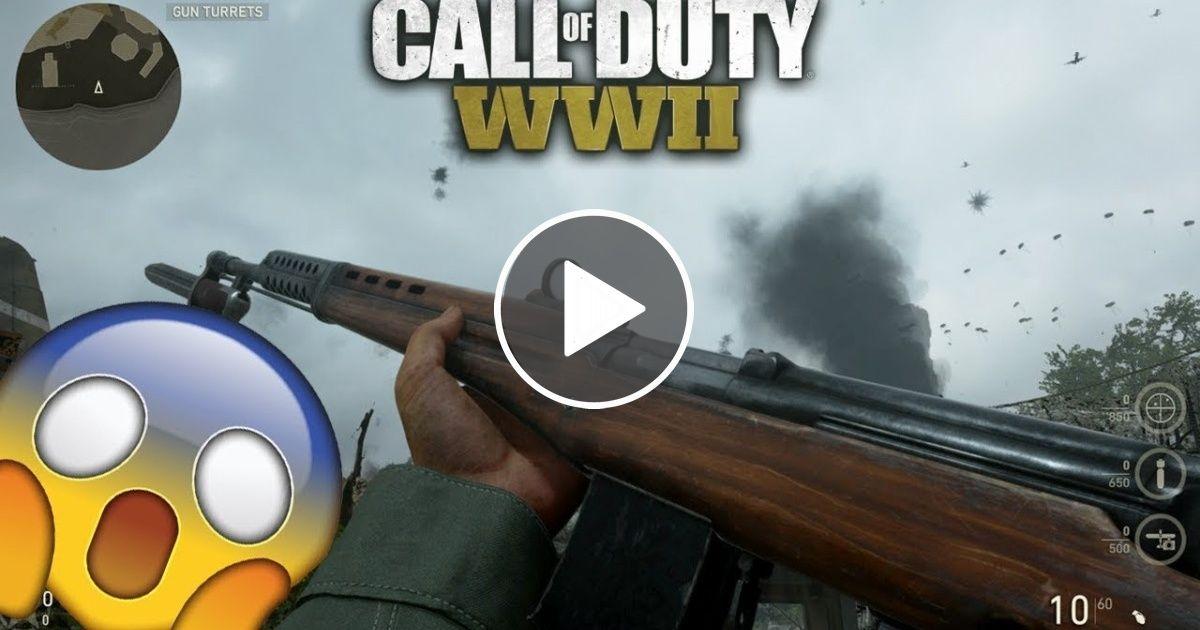 COD WWII SECRET division weapon! | Your Videos | Pinterest ...