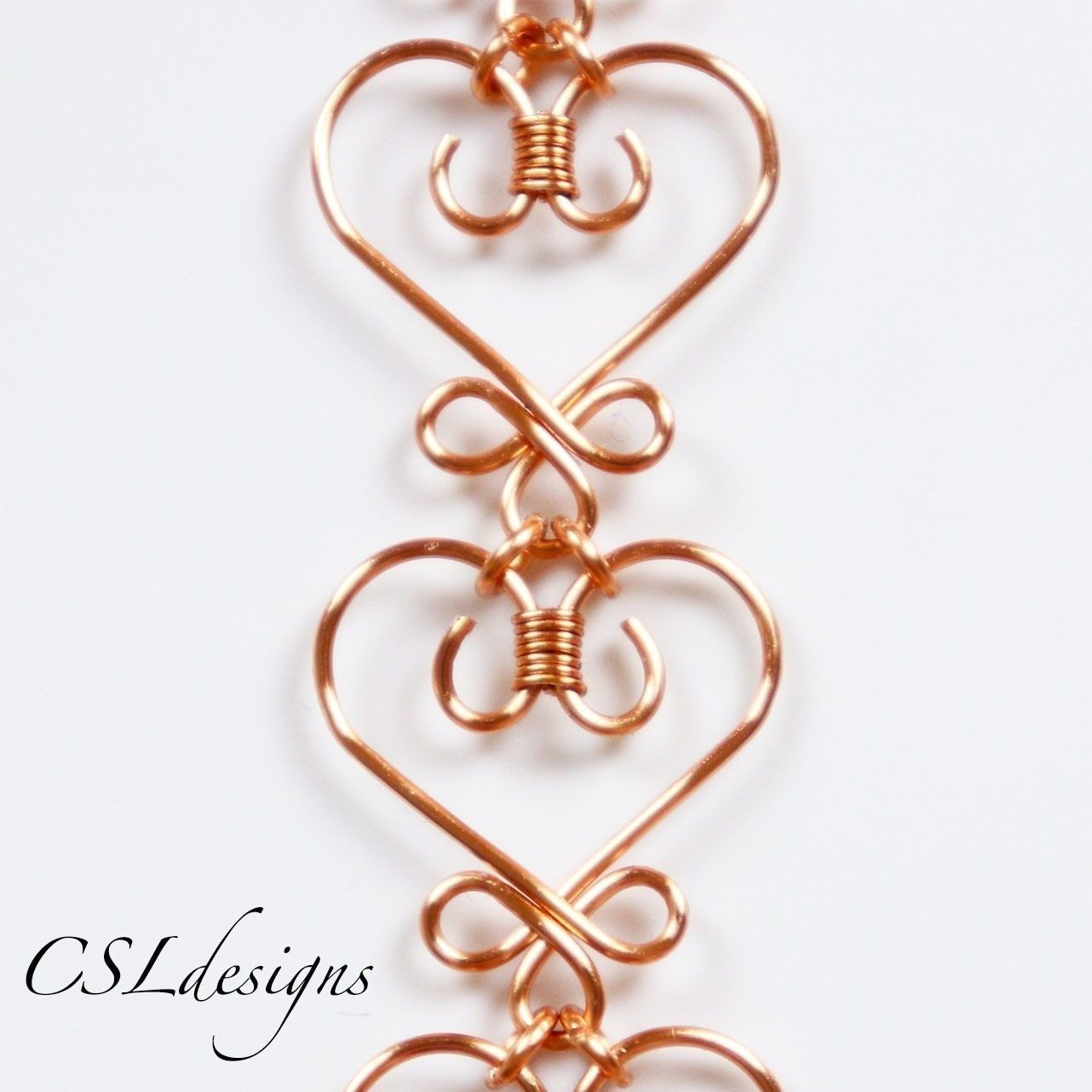 Celtic wirework heart | Wire wrapping, Gauges and Chains