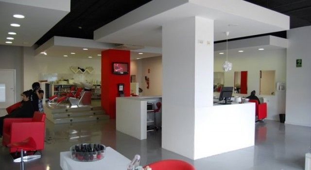 hairdresser peluqueria oxi salon minimalista minimalismo decoracion interiorimo