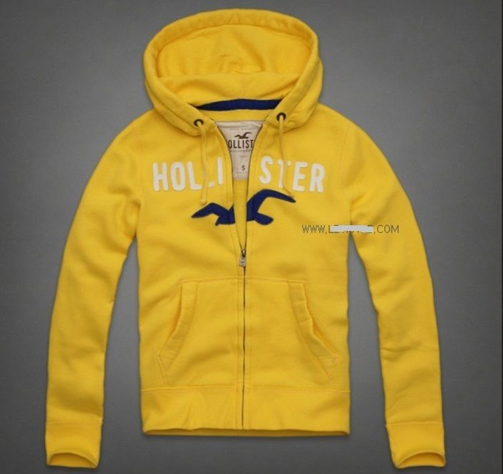 aeaccd4f8f20 HOLLISTER Bright Yellow Zip-UP Hoodie Jacket Men s Extra Large NeW XL  Sweatshirt  52.99  Hollister  Hoodie  HollisterHoodie  HollisterSweatShirt