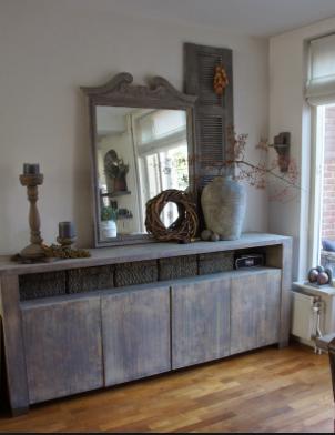 Dressoir decoratie home ideas pinterest dressoir for Decoratie op dressoir
