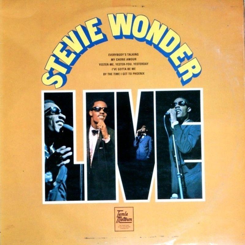 STEVIE WONDER - Stevie Wonder Live (Tamla Motown STML 11150