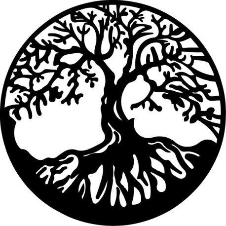 Vinilo Decorativo árbol De La Vida Arbol De La Vida árbol De Metal Tatuaje árbol De La Vida